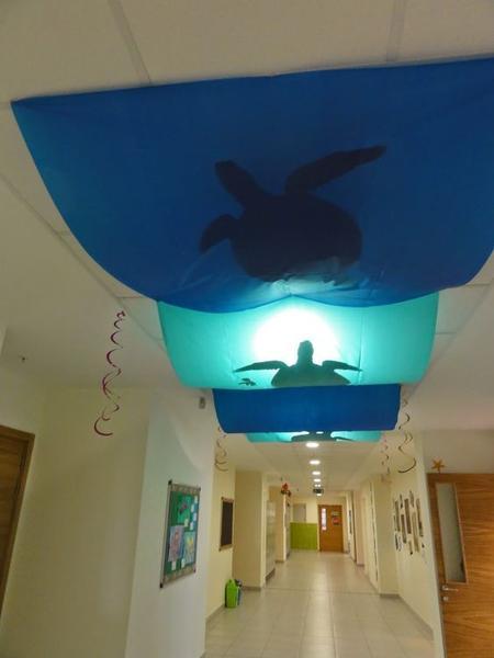 Underwater Ceiling Decor_Bored Teachers