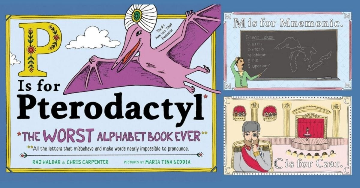 """""""The Worst Alphabet Book Ever"""" Exists and You've Got to Read It!"""