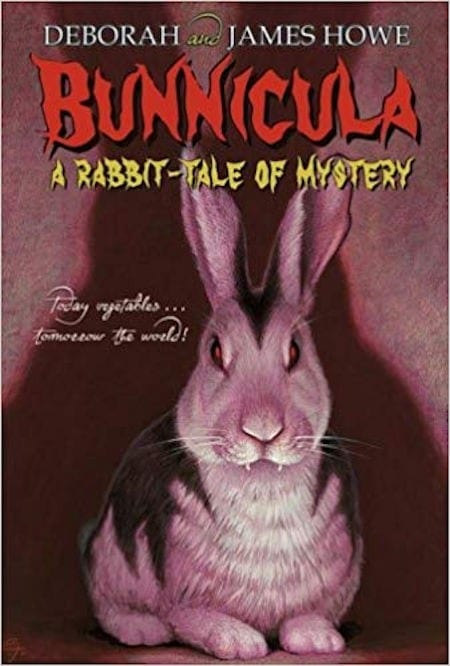 Bunnicula by Deborah and James Howe_50 Must-Read Books for Second Graders
