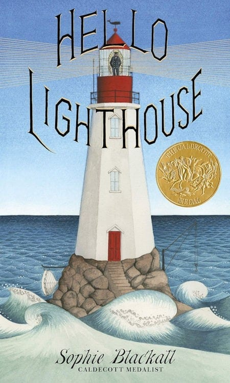 Hello Lighthouse by Sophie Blackall_50 Must-Read Books for Second Graders