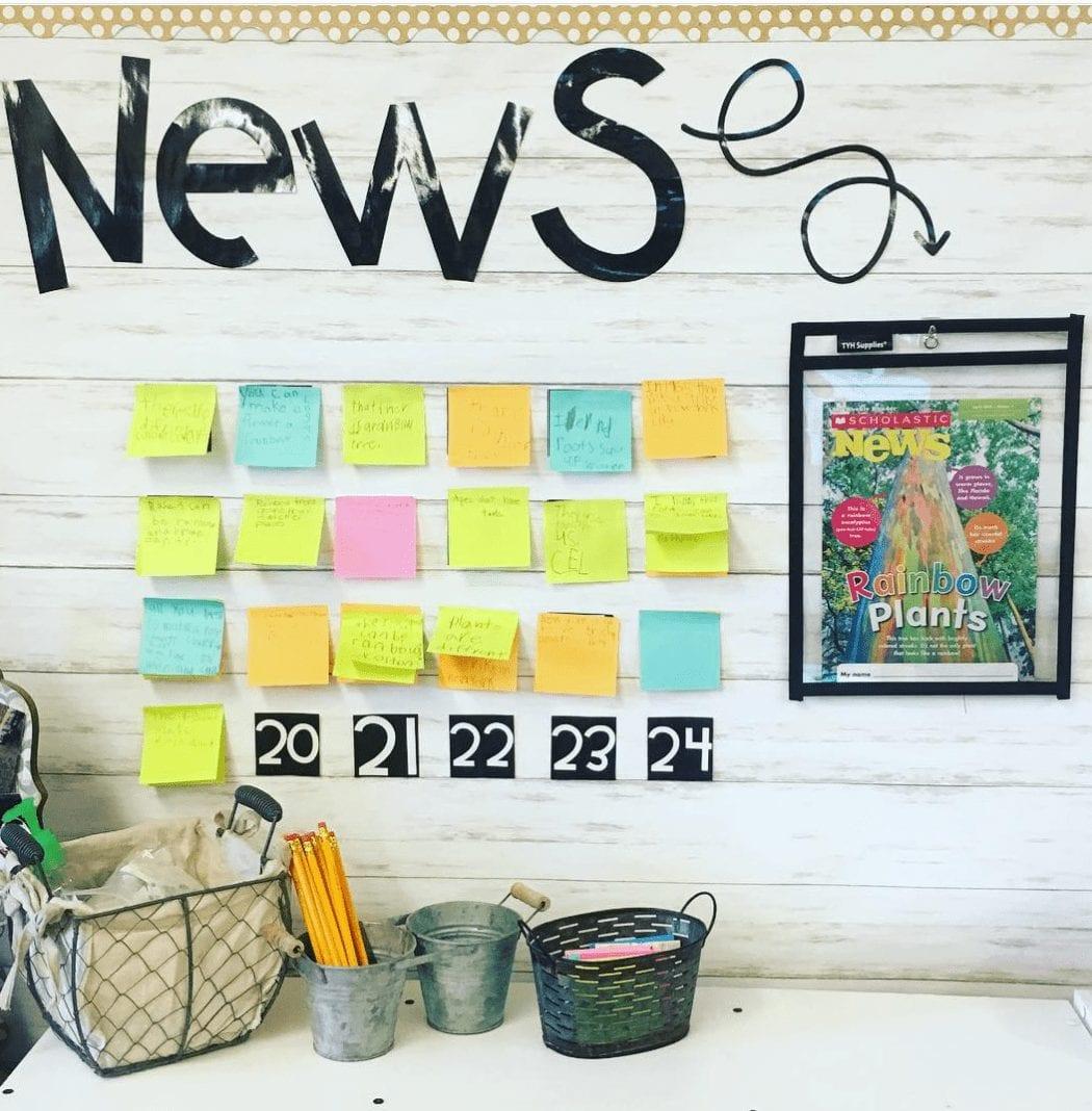 Interactive Article Sharing Board