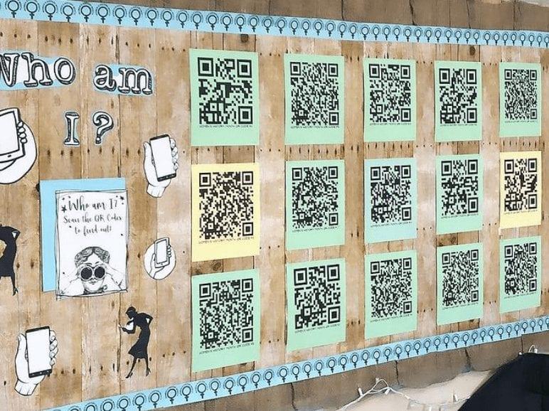 QR Code Mystery Board