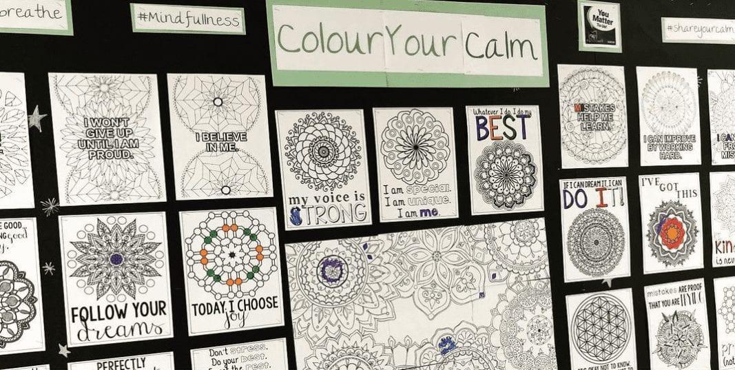 Interactive Bulletin Boards - Coloring Wall!