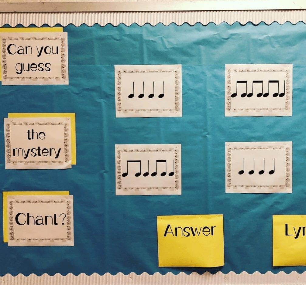 Musical Interactive Bulletin Boards