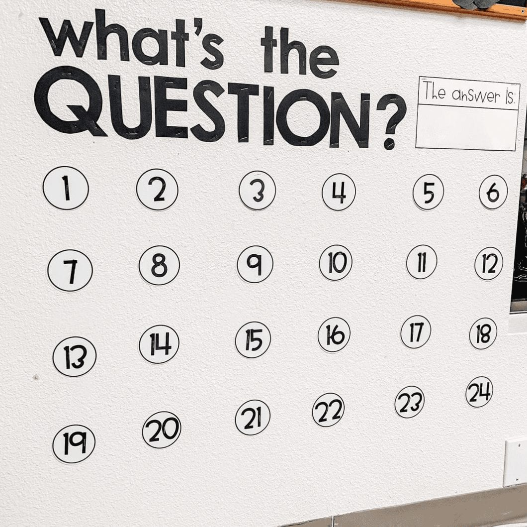 What's the Question? Wall