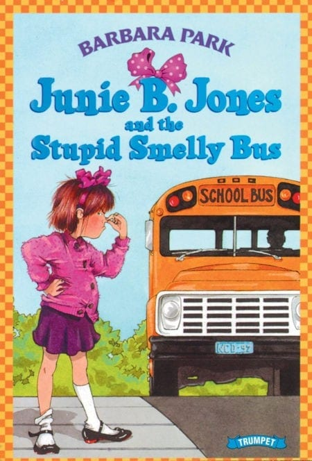 Junie B. Jones and the Stupid Smelly Bus by Barbara Park_50 Must-Read Books for Second Graders
