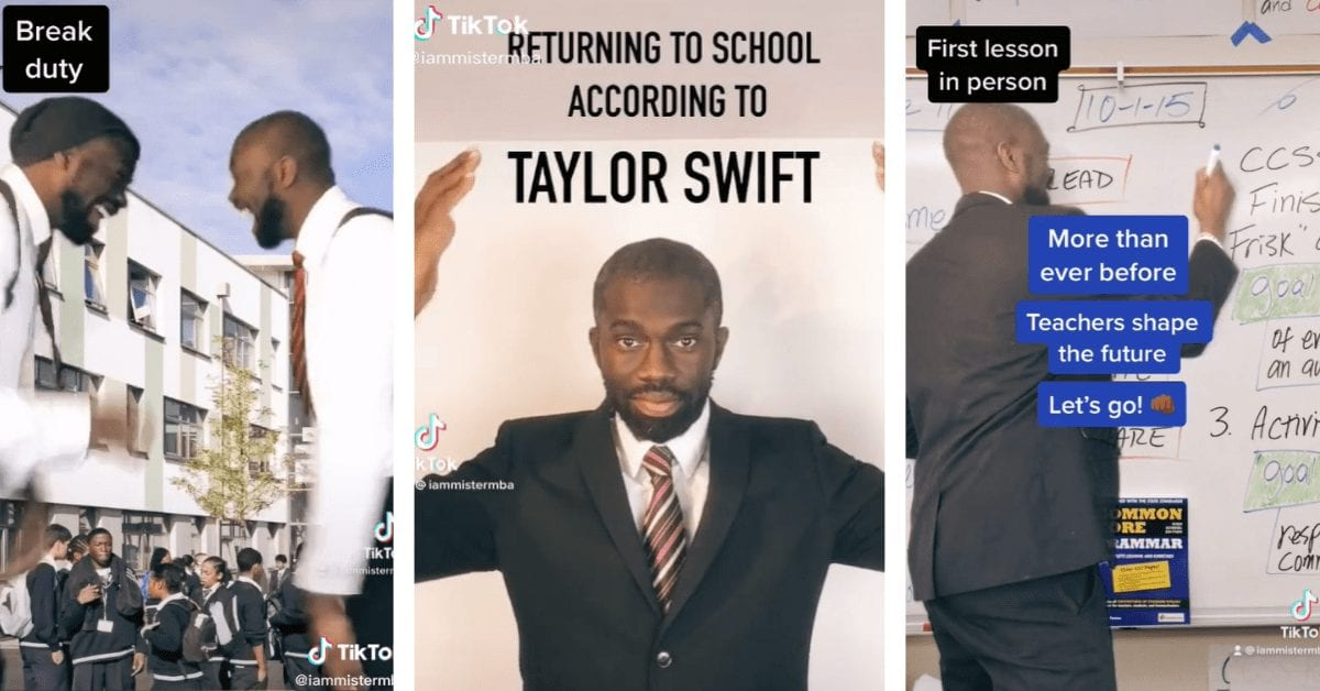 Teachers Returning to School as Told by Taylor Swift