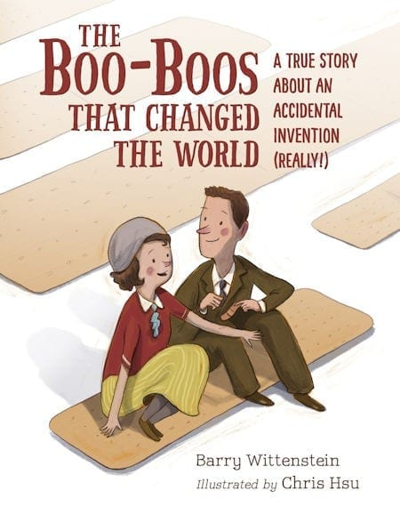 The Boo-Boos That Changed the World written by Barry Wittenstein and illustrated by Chris Hsu_50 Must-Read Books for Second Graders