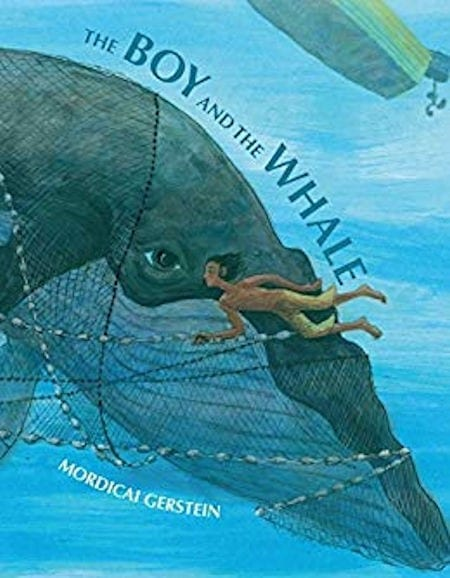 The Boy and the Whale by Mordicai Gerstein_50 Must-Read Books for Second Graders