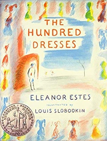 The Hundred Dresses written by Eleanor Estes and illustrated by Louis Slobodkin_50 Must-Read Books for Second Graders