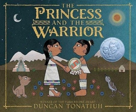 The Princess and the Warrior: A Tale of Two Volcanoes by Duncan Tonatiuh_50 Must-Read Books for Second Graders