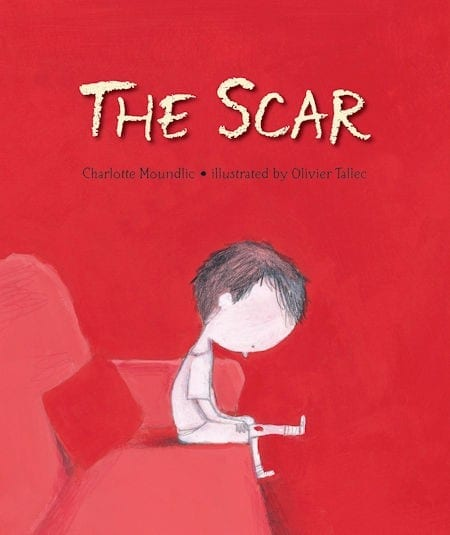 The Scar written by Charlotte Moundlic and illustrated by Olivier Tallec_50 Must-Read Books for Second Graders