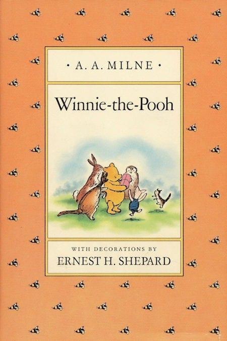 Winnie the Pooh written by A.A. Milne and illustrated by Ernest H. Shepard_50 Must-Read Books for Second Graders