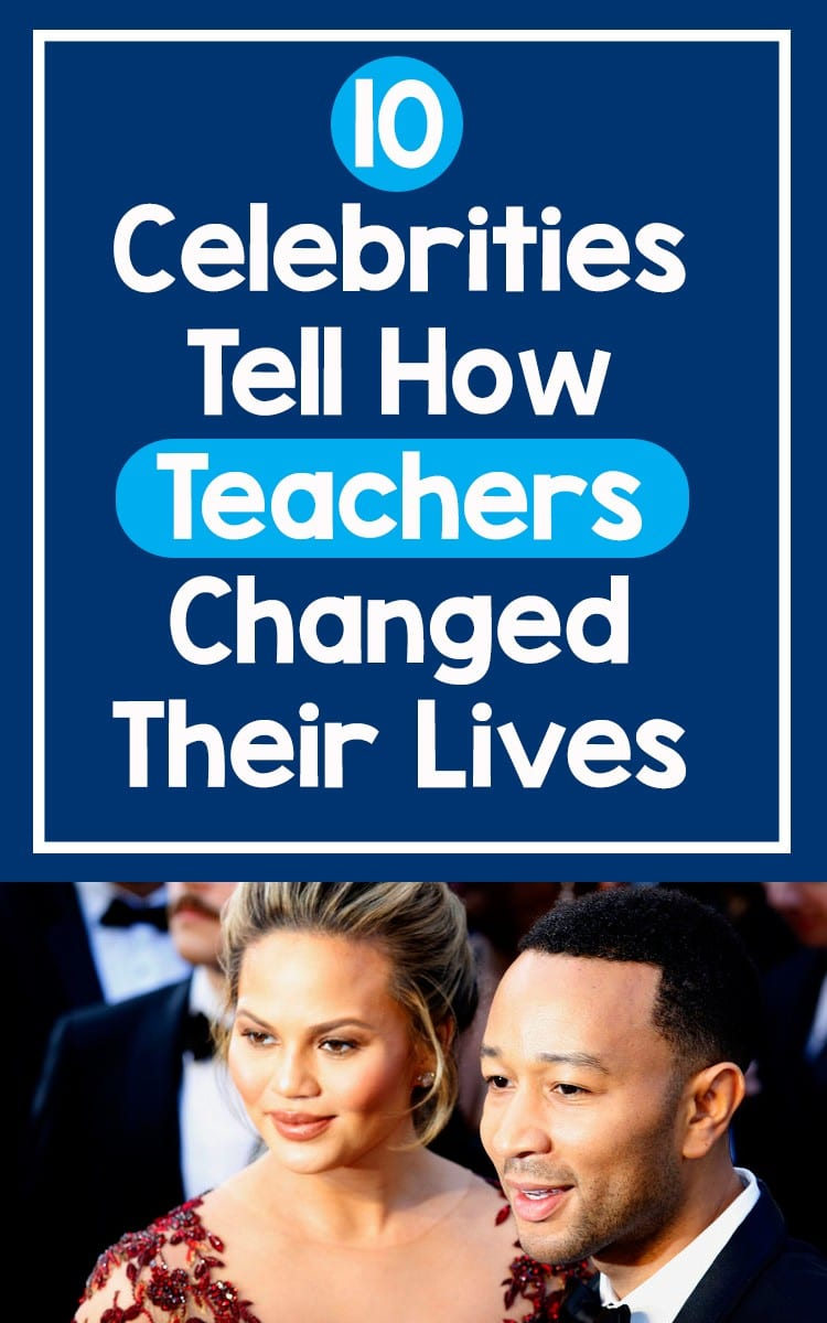 10 Celebrities Tell How Teachers Changed Their Lives feature image