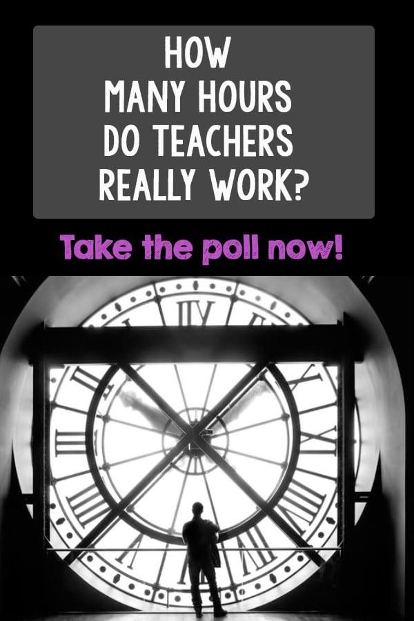 Hours teachers work