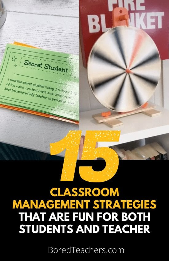 15 Classroom Management Strategies That Are Fun For Both Students and Teacher