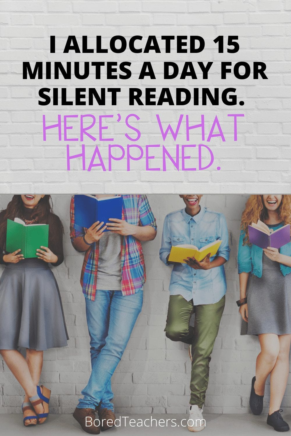 I Allocated 15 Minutes a Day For Silent Reading. Here's What Happened.